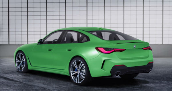BMW 4 Series 2021 Green