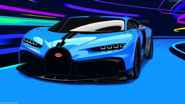 Bugatti 2021 Chiron Pur Sport