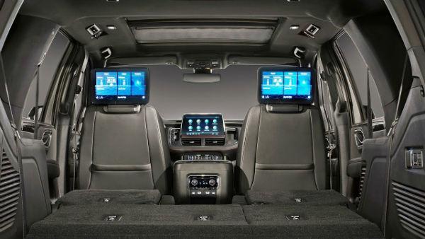 Chevrolet Tahoe 2021 Inside