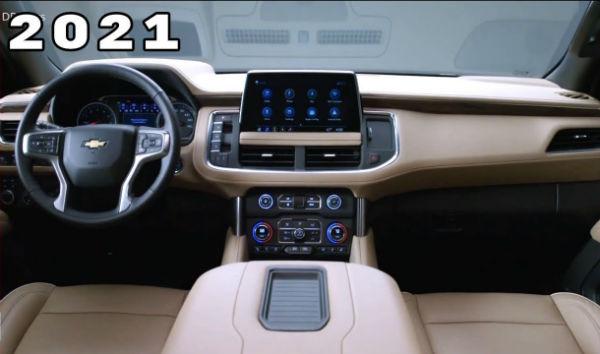 Chevrolet Tahoe 2021 Interior