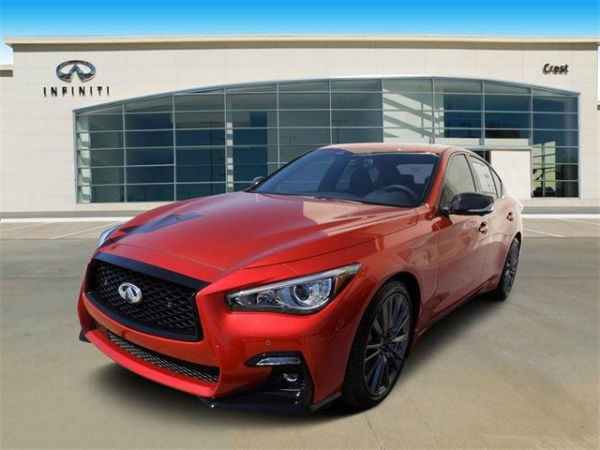2021 Infiniti Q60 Red Sport
