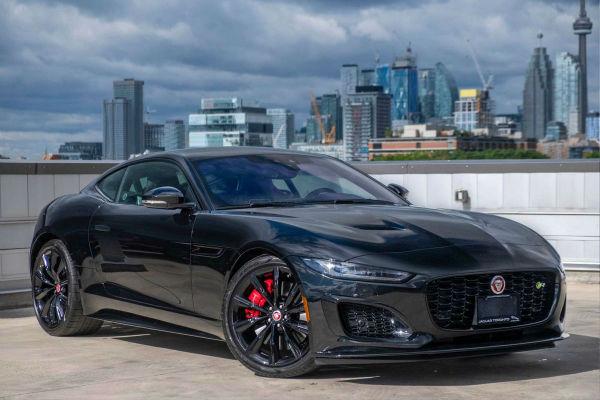 2021 Jaguar F-Type R Black