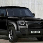 2021 Land Rover Defender Black