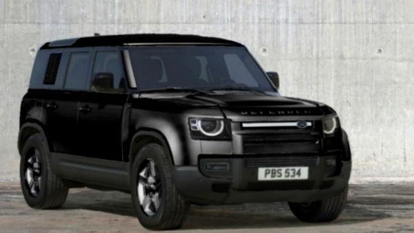 2021 Land Rover Defender Black