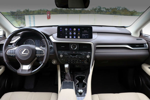 2021 Lexus RX 350 F Sport Interior
