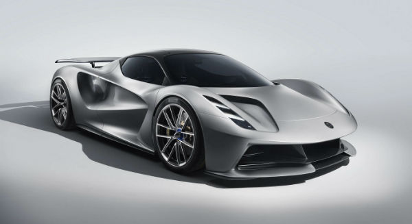 2021 Lotus Evija All-Electric Super Car