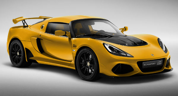 2021 Lotus Exige Sport 410 20th Anniversary Edition