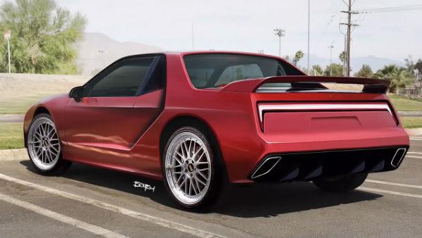 2021 Pontiac Fiero Modernized