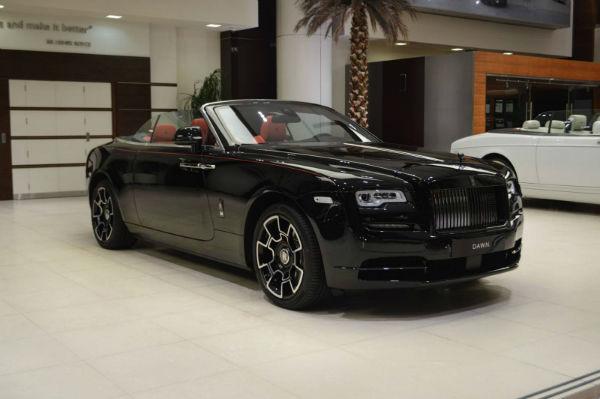 2021 Rolls-Royce Dawn Black Badge