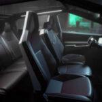 2021 Tesla Cybertruck Inside
