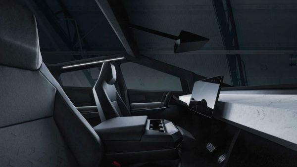 2021 Tesla Cybertruck Interior
