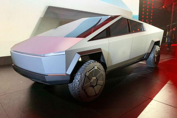 2021 Tesla Cybertruck UK