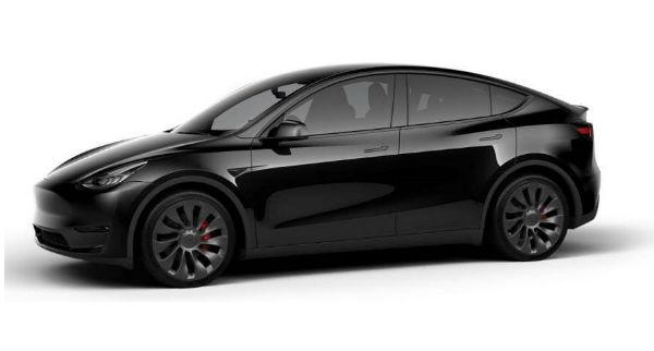 2021 Tesla Model Y Black