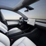 2021 Tesla Model Y Inside
