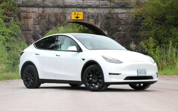 2021 Tesla Model Y White