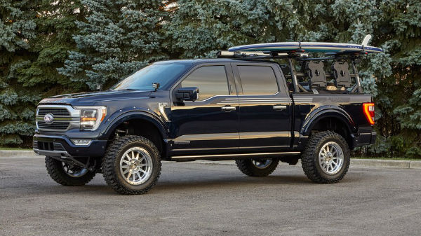 Ford F150 2021 Lifted