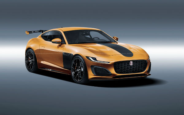 Jaguar F-Type 2021 SVO