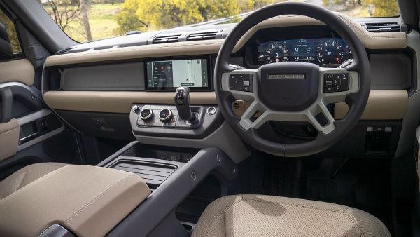 Land Rover defender 2021 Interior