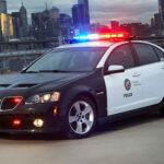 Pontiac G8 Police Car