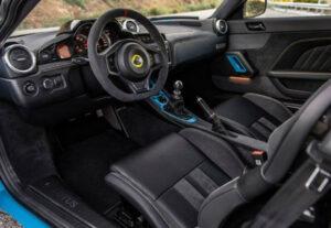 2021 Lotus Evora GT Interior