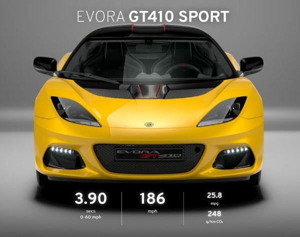 2021 Lotus Evora GT410 Sport