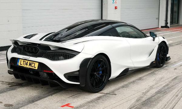 2021 McLaren 765LT White