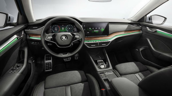 2021 Skoda Octavia RS Interior