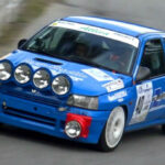 Renault Clio Williams Rally Car