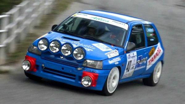 Renault Clio Williams Rally Car