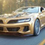 2022 Pontiac Trans AM Gold