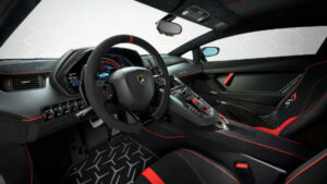 2022 Lamborghini Aventador Interior