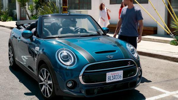 2022 Mini Cooper Convertible Sidewalk Edition