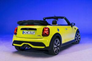 2022 Mini Cooper Convertible Zesty Yellow