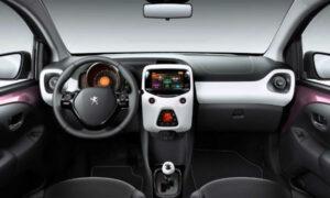 2022 Peugeot 108 Interior