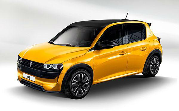 2022 Peugeot 108 Model