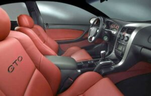 2022 Pontiac GTO Interior