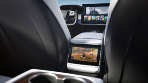 2022 Tesla Model S Inside Interior