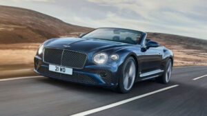 2022 Bentley Continental GT Convertible