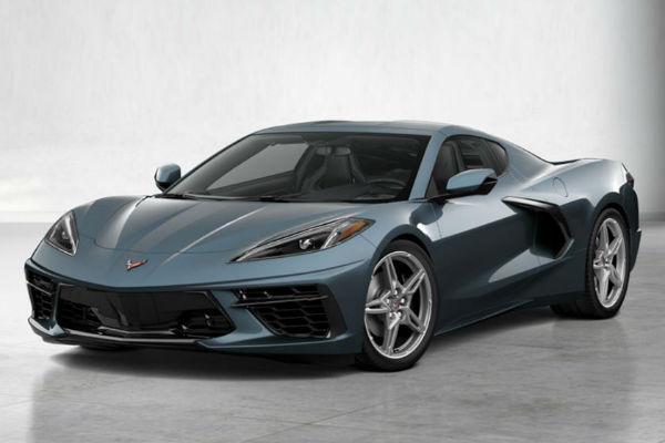 2022 Chevrolet Corvette in Hypersonic Gray Metallic