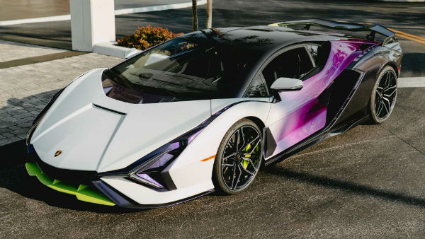 2022 Lamborghini Sian