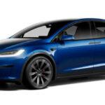 2022 Tesla Model X Blue