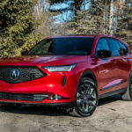 Acura MDX 2022 Red