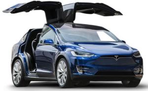 Tesla Model X 2022 Blue