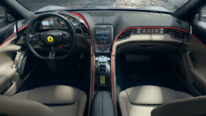 2022 Ferrari Purosangue SUV Interior