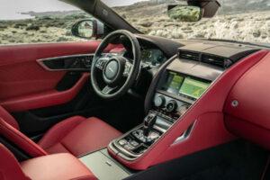 2022 Jaguar F-Type Interior