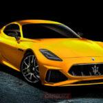 2022 Maserati Granturismo Render