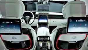 2022 Mercedes Maybach S Class Interior