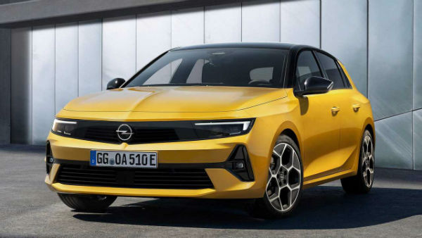 2022 Opel Astra Sedan