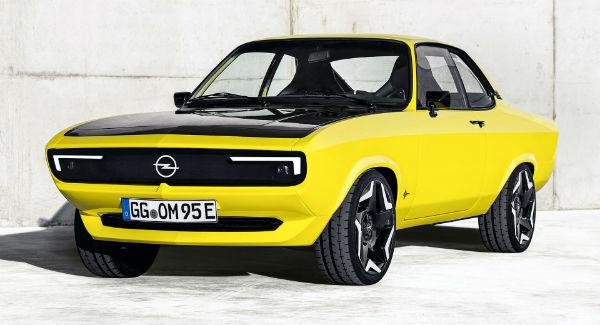 2022 Opel Manta GSE Elektromod