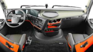 022 Volvo Semi Truck Interior